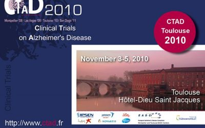CLINICAL TRIALS ON ALZHEIMER'S DISEASE TOULOUSE 2010