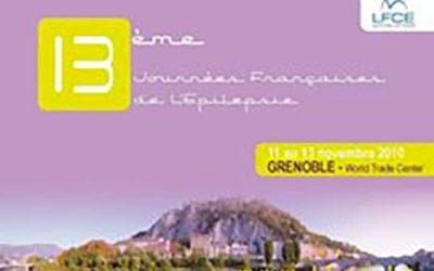 13èmes Journées Françaises de l'Epilepsie GRENOBLE 2010