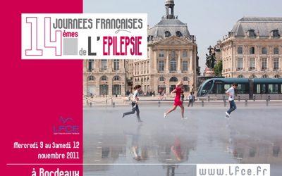 14èmes Journées Françaises de l'Epilepsie BORDEAUX 2011