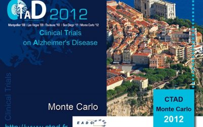 CLINICAL TRIALS ON ALZHEIMER'S DISEASE MONACO 2012