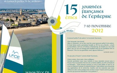 15èmes Journées Françaises de l'Epilepsie SAINT MALO 2012