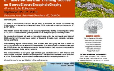 2ND NORTH-AMERICAN TRAINING COURSE ON STEREOELECTROENCEPHALOGRAPHY SACACOMIE 2013
