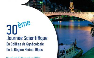 30ème Journée Scientifique du CGRRA LYON 2013