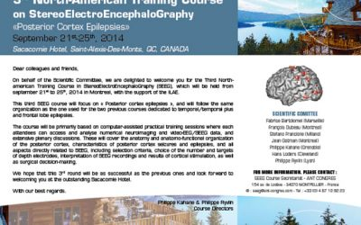3RD NORTH-AMERICAN TRAINING COURSE ON STEREOELECTROENCEPHALOGRAPHY SACACOMIE 2014
