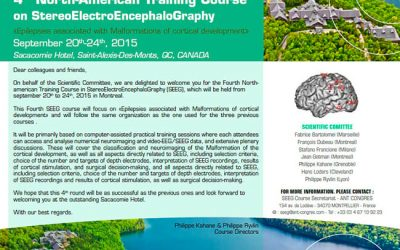 4TH NORTH-AMERICAN TRAINING COURSE ON STEREOELECTROENCEPHALOGRAPHY SACACOMIE