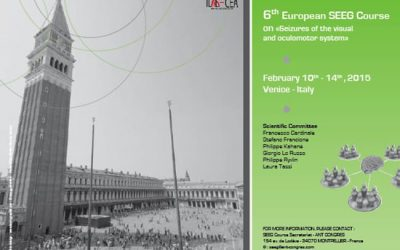"6TH SEEG COURSE ON ""SEIZURES OF THE VISUAL AND OCULOMOTOR SYSTEM"" VENISE 2015"
