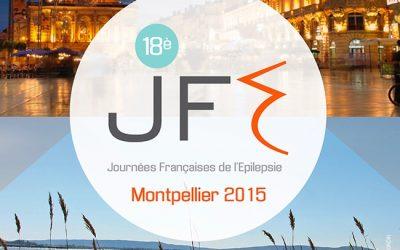18èmes Journées Françaises de l'Epilepsie MONTPELLIER 2015