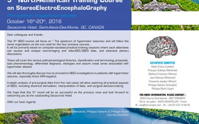 5TH NORTH-AMERICAN TRAINING COURSE ON STEREOELECTROENCEPHALOGRAPHY SACACOMIE