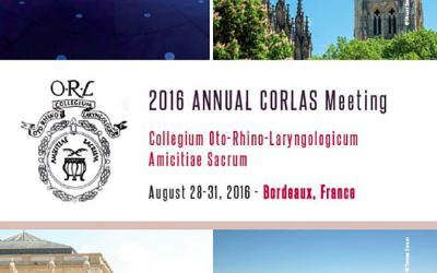 ANNUAL CORLAS MEETING BORDEAUX 2016