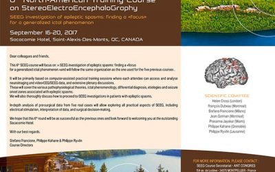 6TH NORTH-AMERICAN TRAINING COURSE ON STEREOELECTROENCEPHALOGRAPHY (SEEG) CANADA