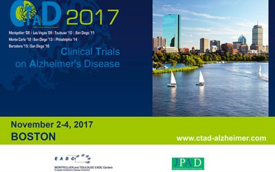 CLINICAL TRIALS ON ALZHEIMER'S DISEASE (CTAD) BOSTON