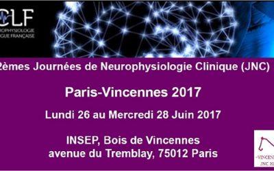 2èmes Journées de Neurophysiologie Clinique LILLE 2017