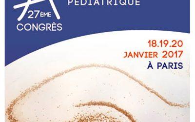 27ème Congrès de la Société Française de Neurologie Pédiatrique PARIS 2017