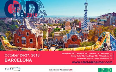 CLINICAL TRIALS ON ALZHEIMER'S DISEASE (CTAD) BARCELONE