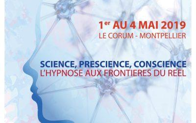 11e Forum de la Confédération Francophone d'Hypnose et Thérapies Brèves, du 1er au 4 mai 2019 à Montpellier
